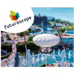 FUTUROSCOPE OFFRE FLASH ! Tarif unique Adulte/Enfant 2 Jours 65€