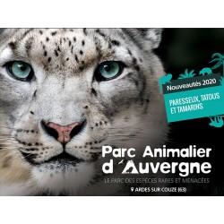 E-billet Parc Animalier d'Auvergne - Tarif adulte