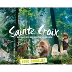 E-Billet 1 Jour PARC ANIMALIER DE SAINTE-CROIX Adulte