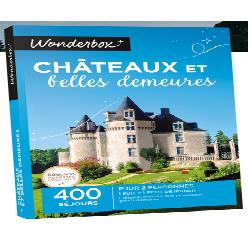 WONDERBOX ' NUIT DE REVE AU CHATEAUX & BELLES DEMEURES'