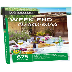 WONDERBOX 'WEEK-END & SAVEURS'