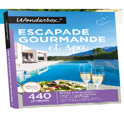 WONDERBOX 'ESCAPADE GOURMANDE & SPA'