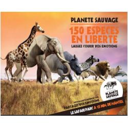 E-BILLET PLANETE SAUVAGE - PARC ANIMALIER - ENFANT