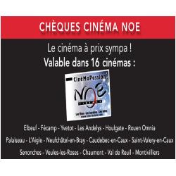 LES CHEQUES CINEMAS NOE VALABLE DANS 16 CINEMAS